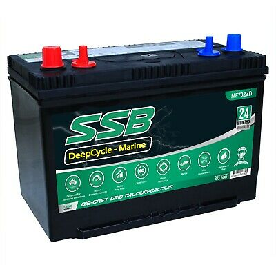 12V N70Zz Deep Cycle Maintenance Free 110Ah Battery 4Wd Marine Calcium