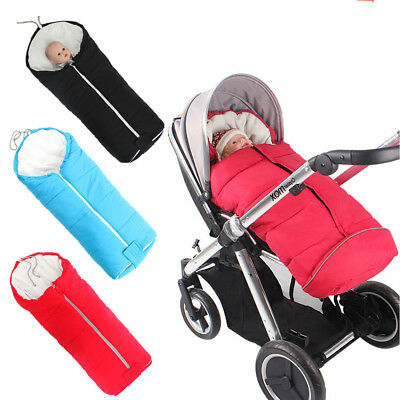 Universal Baby Warm Footmuff Fit Buggy Pushchair Stroller Pram Cosy Toes