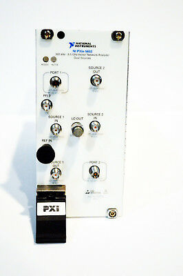 *USA* National Instruments NI PXIe-5632 8.5 GHz PXI Vector Network Analyzer