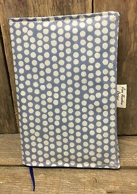 A5 Diary Cover,Week to view A5 diary cover,A5 journal cover,China blue Spotty