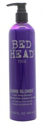 Tigi Bed Head Dumb Blonde Purple Toning Shampoo - Women's For Her. New