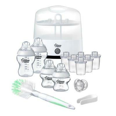 Tommee Tippee Closer To Nature Electric Steriliser Kit - New