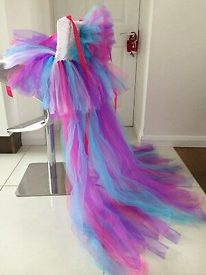 PRINCESS PARTY NEXT DRESS UNICORN LIMITED EDITION!UNIC LOOKS STUNNING Age 8-9-10