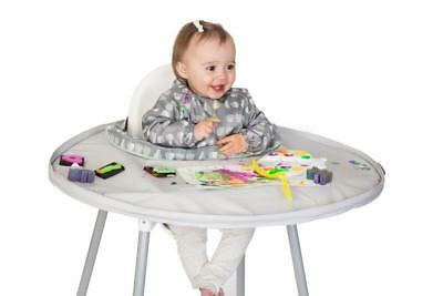 Tidy Tot Bib And Tray Kit Weaning Essential – Dove Grey New Baby Chair Toddler