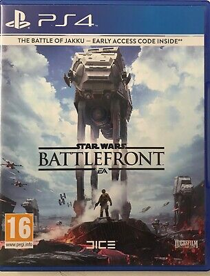 Star Wars: Battlefront (Sony PlayStation 4/PS4) Preowned, Free UK P&P