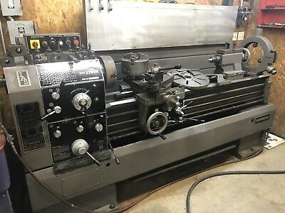 """TAKANG 16"""" X 60""""cc Engine Lathe, I/M Threading, Steady Rest, 3 And 4 Jaw Chuck"""