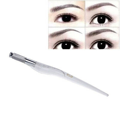Microblading Manual Tattoo Pen Eyebrow Permanent Microblade Needle Holder Charm