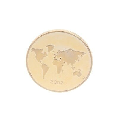 Golden Mexico Wolrd Wonder Commemorative Challenge Coin Souvenir Art Gift Craft