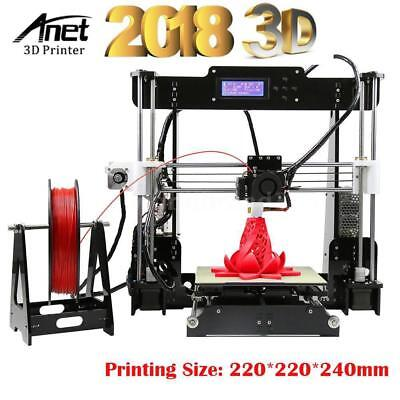 Anet A8 3D Desktop Drucker DIY 3D Printer Precision Reprap i3 mit 8GB SD EU Q0R7