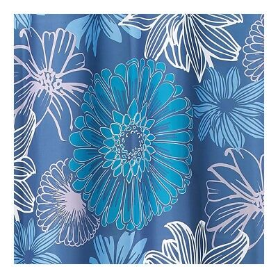 Interdesign #61020 Luna Floral Shower Curtain