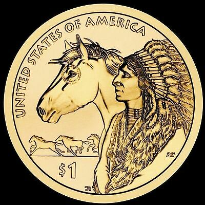 "2012 D Sacagawea Native American Dollar US Mint Coin ""Brilliant Uncirculated"""
