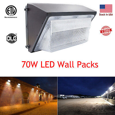 70Watt Led Wall Pack Used Outdoor Parking Lot Security General Flood Lighting