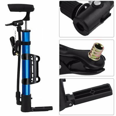 Cycling Portable MTB Bicycle Presta Schrader Valve Balls Bike Air Pumps Inflater