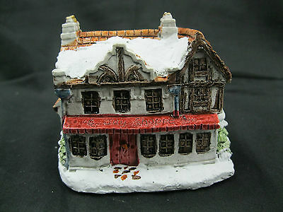 A Dickens Christmas Toy Shoppe 1988 RSVP Vintage Miniature Cottage