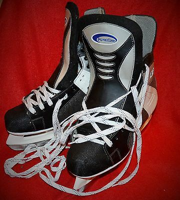* Patin A Glace Patinage Hockey * Ccm * Powerline 600 T12 A15 Occasion  Bon État