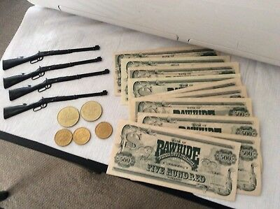 Scottsdale Arizona 19 Piece Collection 5,000 Buckaroos Rawhide Town Money Plus!