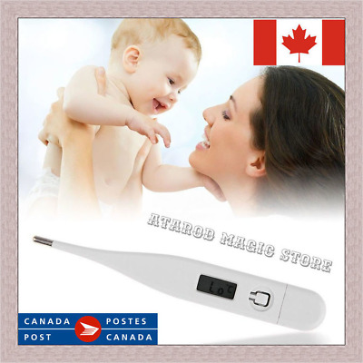 Digital Medical LCD Baby Thermometer Ear Temperature Oral Alarm