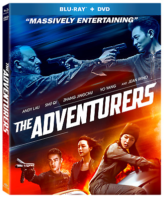 The Adventurers (Blu-ray/DVD Combo, 2018, 2-Disc Set)(WGU01909B)New, Well Go USA