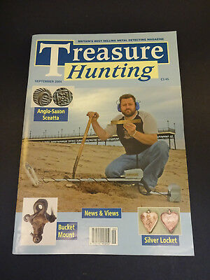 Treasure Hunting Magazine: Sept 2004: Tokens & Tallies, Archaeological Dig