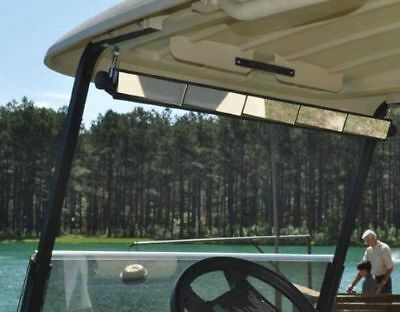 5 PANEL GOLF CART Mirror Universal Wink Panoramic Rear View For Club Car YAMAHA