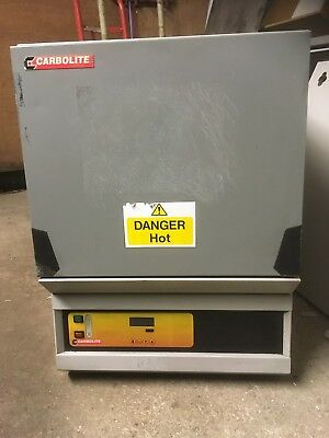 CARBOLITE 1100C OAF 11/1 ASHING (CALCINATION) FURNACE/MUFFLE OVEN 7 Litre