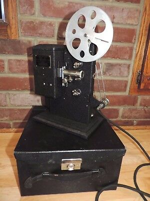 Vintage Kodascope Eight Model 20 T Projector With Reel And Box