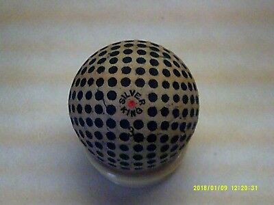 Rare Vintage Antique Unusual Silver King Dimple Golf Ball