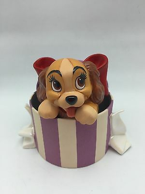 """Wdcc Lady & The Tramp """"a Perfectly Beautiful Little Lady"""" - W/coa & Pin - 1999"""