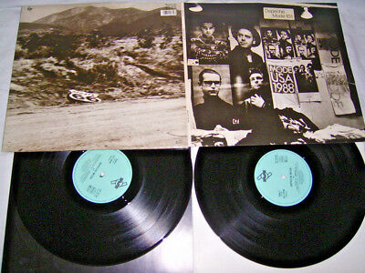 2 LP - Depeche Mode 101 (Live) Booklet OIS 1989 # cleaned