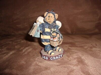 Longaberger Boyd's Bear Exclusive Bee Crazy Bearstone Resin - NIB