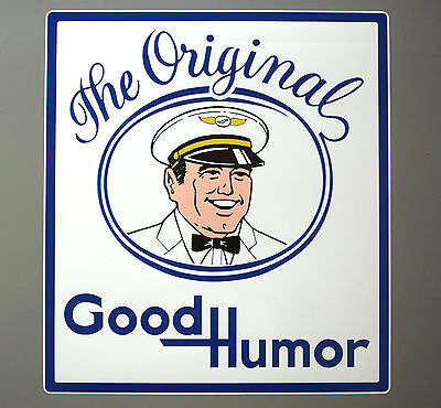 "GOOD HUMOR MAN Ice Cream Truck Decal / Sticker - 18"" x 20"""