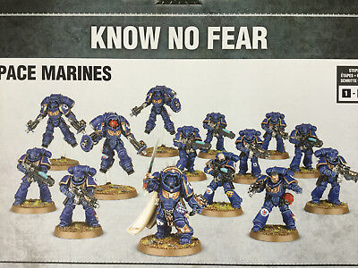 SPACE MARINE Primaris Startarmee (Captain. Hellblaster, Inceptor, intercessor)