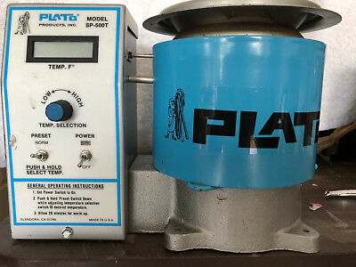 "Plato Solder Pot SP-500T 350 Watt LCD display 2.25"" diameter variable temp"