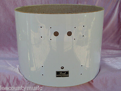"""PEARL EXPORT SERIES 22"""" WHITE BASS DRUM SHELL for YOUR SET! LOT #J80"""