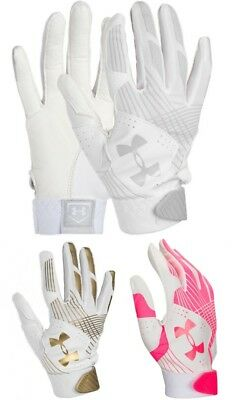 Under Armour Radar Women's Softball Fastpitch Batting Gloves, 1299550 NEW!