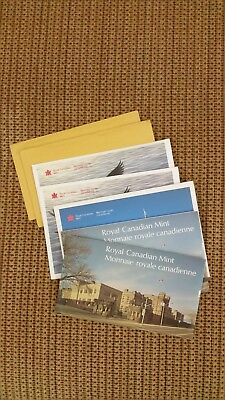 Lot of 7 Canada Mint Sets 70s and 80s