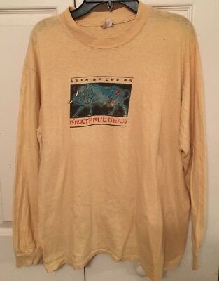 Vintage 1985 Grateful Dead Chinese New Year Of The Ox Long Sleeve Concert Tee