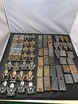Lot of 76 Homecraft  Hinges Vintage style Victorian Gothic Rustic New Assorted