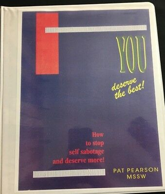 """""""People Smart"""" and """"You Deserve the Best""""  -- Two (2) Seminars by Pat Pearson"""