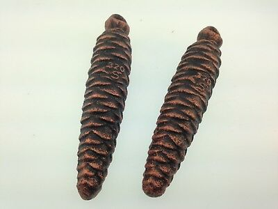 German Black Forest Cuckoo Weights 320 grams Set of 2