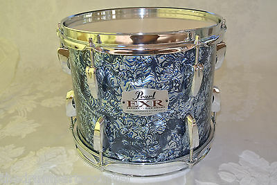 """Pearl 10"""" Exr Export Series In Blue Prizm For Drum Set Lot# M473"""