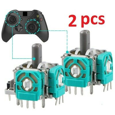 2pcs Replacement 3D Controller Joystick Axis Analog Sensor Module For Xbox One