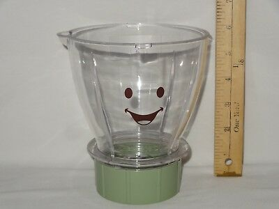 Baby Bullet Food Processor Blender Jar Pitcher Bowl Flat Blade Replacement Part