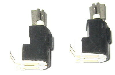 2 X Tiny Vibrator Motors - 4 mm Dia. - Pager / Cell Phone Micro Motor - 3 V DC