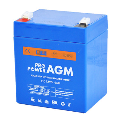 12V 5.4AH AGM Rechargeable Battery Razor E100 E150 E125 Electric Scooter UPS Toy