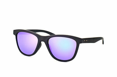 Oakley Sunglasses Women's OO9320-09 Moonlighter Black with Violet Polarized Lens