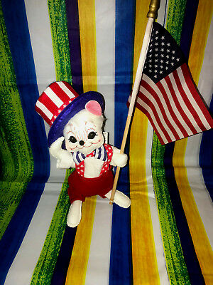 """Annalee Patriotic 4th Of July Boy Mouse 6"""" New 2018 250218 No Tooth"""