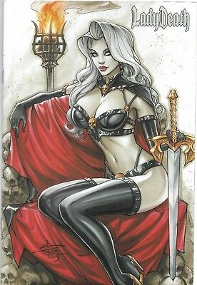Lady Death Fantasies #1: Sabine Rich Commission Limited to 55