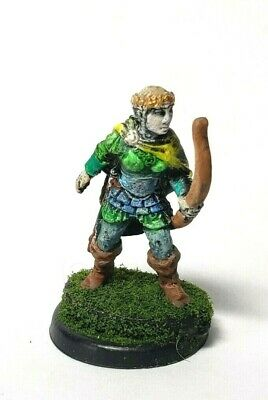 FEMALE FIRE MAGE miniature Dungeons and Dragons D&D warhammer