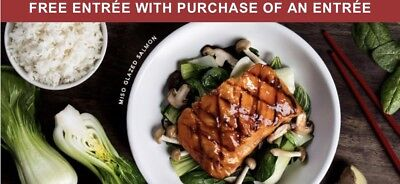 Pf Changs Buy One Get One Free Entree Barcoded Voucher
